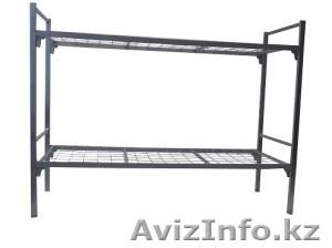 Кровати металлические двухъярусные, одноярусные, кровати для рабочих, опт. - Изображение #4, Объявление #1424155