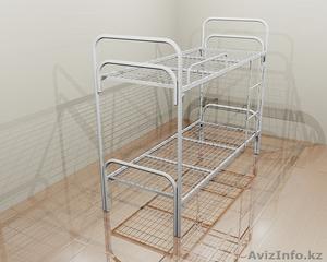 Кровати металлические двухъярусные, одноярусные, кровати для рабочих, опт. - Изображение #2, Объявление #1424155