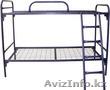 Кровати металлические двухъярусные,  одноярусные,  кровати для рабочих,  опт.